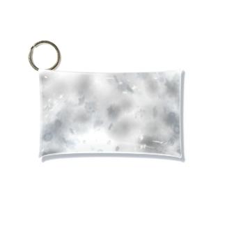モノクロームの雪舞うセカイ Mini Clear Multipurpose Case