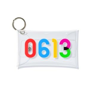 0613_誕生日_記念日_カラー Mini Clear Multipurpose Case