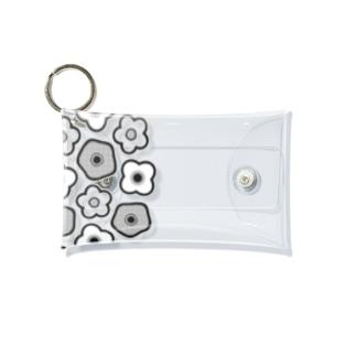 Flower pattern お花柄 Mini Clear Multipurpose Case