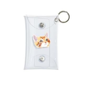 CAT ワンポイント Mini Clear Multipurpose Case