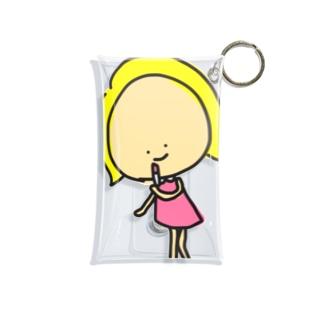 お化粧キャシー Mini Clear Multipurpose Case