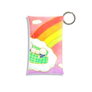 虹のふもと Mini Clear Multipurpose Case