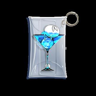 クレイジー闇うさぎSHOPのクレイジー闇うさぎ(Blue Moon) Mini Clear Multipurpose Case
