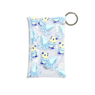 パンダいか Mini Clear Multipurpose Case