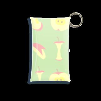 ヘイヘイホーショップのりんご Mini Clear Multipurpose Case