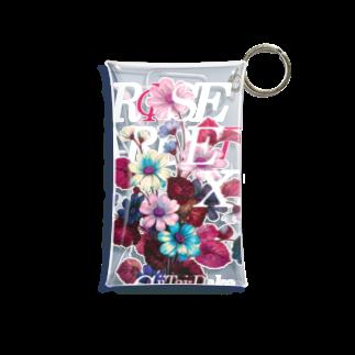 iiTAI-DAKE    -  イイタイダケ  -のROSE GARDEN XLUB Mini Clear Multipurpose Case