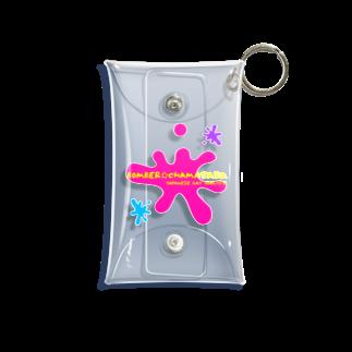 ボンバー☆チャマタソ。 オフィシャル ショップのBOMBER☆CHAMATASO. Mini Clear Multipurpose Case