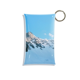 雪の峰 Mini Clear Multipurpose Case