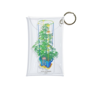 Week end weeds. Mini Clear Multipurpose Case