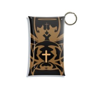 黒と王冠 Mini Clear Multipurpose Case