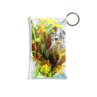 + Fete des fleurs 02《Leucadendron+yellow flowers》 Mini Clear Multipurpose Case