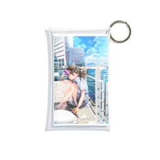 透明な少女 Mini Clear Multipurpose Case