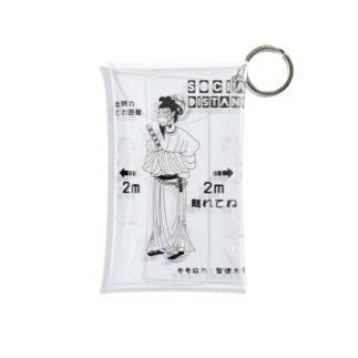 聖徳太子 ーズ ソーシャルディスタンス Mini Clear Multipurpose Case