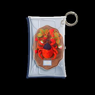 水島ひねのイチゴダニ Mini Clear Multipurpose Case