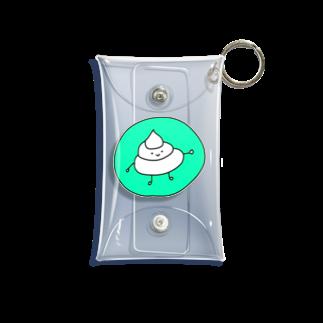 aya339のごきげんうんちくん(キミドリ) Mini Clear Multipurpose Case