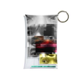 Eyes plastic case Mini Clear Multipurpose Case