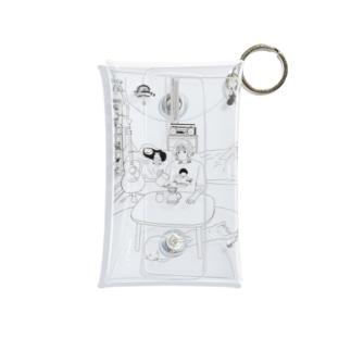 ジブリ女子 Mini Clear Multipurpose Case