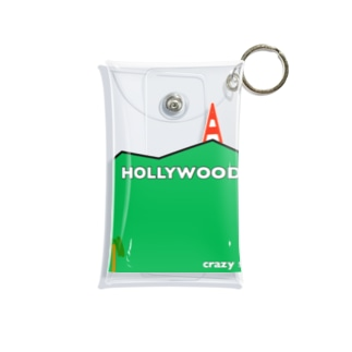HOLLYWOOD collection Mini Clear Multipurpose Case