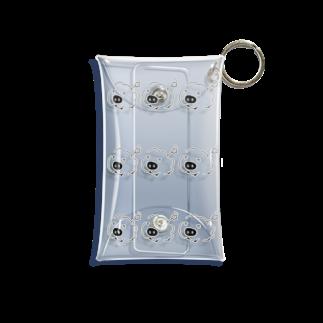 くじらのいっぱいリモンココ Mini Clear Multipurpose Case