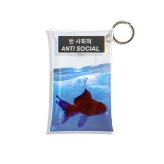 anti social Mini Clear Multipurpose Case