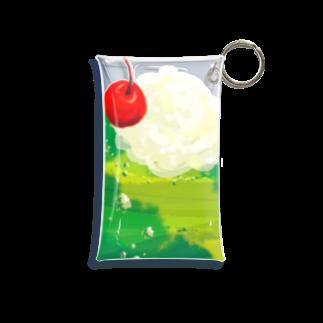 ruki_20150529のメロンソーダミニ Mini Clear Multipurpose Case