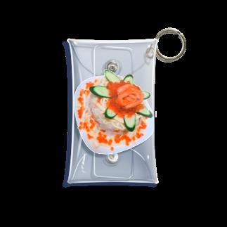 島のアイランドの海鮮丼ケーキ Mini Clear Multipurpose Case
