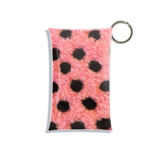 Polka dot Mini Clear Multipurpose Case