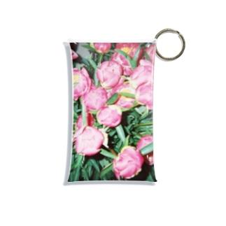 harucamera シャクヤク Mini Clear Multipurpose Case