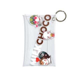 ミルクチョコ ラブリー Mini Clear Multipurpose Case