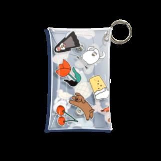 mugny shopのモチーフ Mini Clear Multipurpose Case