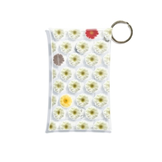 Pressed Flower(GBR)  Mini Clear Multipurpose Case