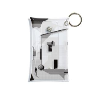 外国の道端 Mini Clear Multipurpose Case