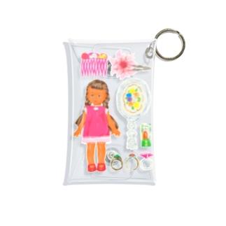 姫とお宝 Mini Clear Multipurpose Case