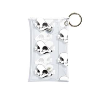いっぱいうずくまる Mini Clear Multipurpose Case