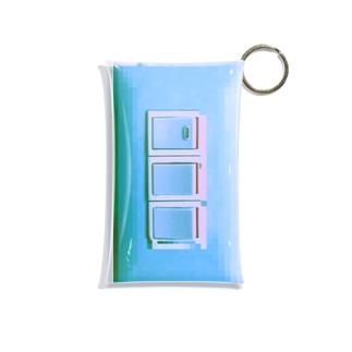 照明スイッチさわやかバグ Mini Clear Multipurpose Case