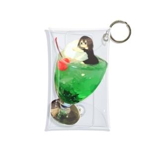 クリームソーダちゃん Mini Clear Multipurpose Case