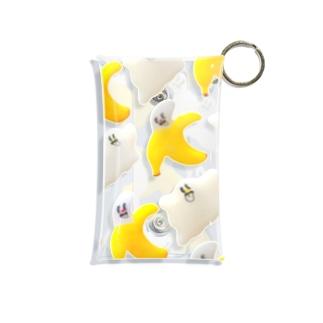 すけすけ おばけバナナ Mini Clear Multipurpose Case