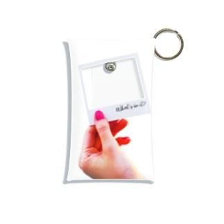 透けるポラロイド Mini Clear Multipurpose Case
