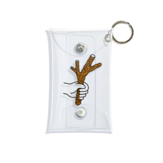 枝を持っている Mini Clear Multipurpose Case