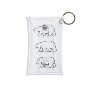 シロクマトリオ Mini Clear Multipurpose Case