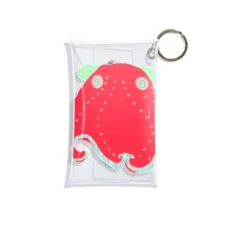 カラフルメンダコ Mini Clear Multipurpose Case