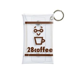 28coffee Mini Clear Multipurpose Case