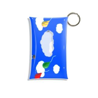 空の景色 Mini Clear Multipurpose Case