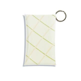 harucamera メロンパン壁 Mini Clear Multipurpose Case