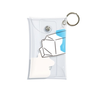 MILK_B Mini Clear Multipurpose Case