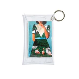 flamingodress Mini Clear Multipurpose Case