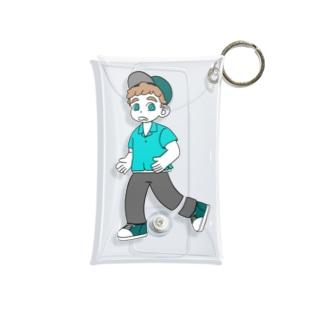 Boy / color Mini Clear Multipurpose Case