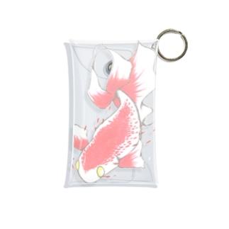 赤い魚 Mini Clear Multipurpose Case