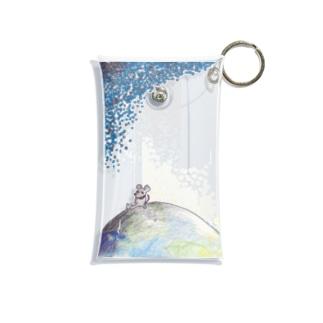 ねずみくんの夜明け Mini Clear Multipurpose Case