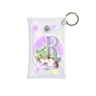flower&cat R Mini Clear Multipurpose Case